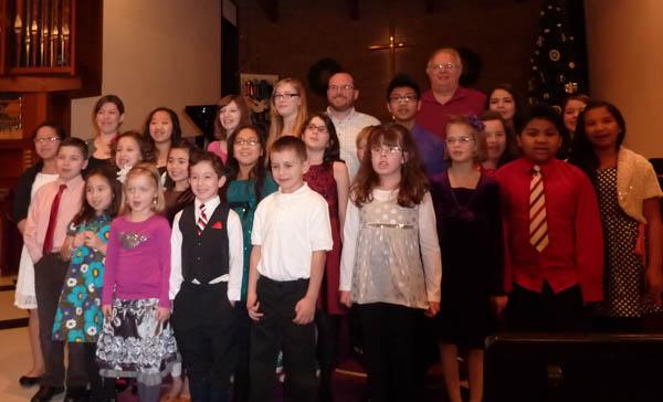 Christmas recital 2012